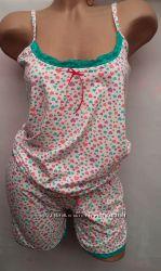 Комплекты  майка с шортами для  сна и отдыха