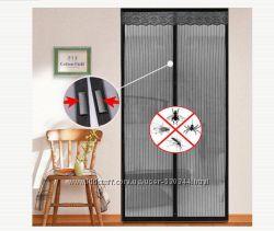 Сетка - штора магнитная антимоскитная на дверь