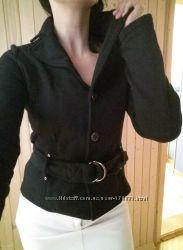 Классная теплая куртка, пиджак Amisu на осень , 48рр