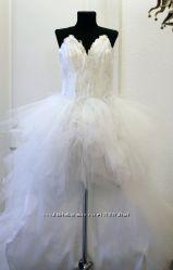Новое свадебное платье Белый лебедь