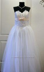 Свадебное платье Новое недорого