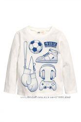 Регланы для мальчика H&M цвета размеры