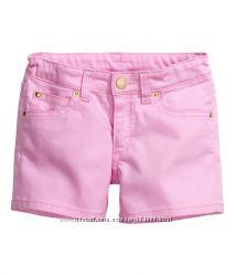 Шортики для девочек H&M Англия цвета, размеры от 8 до 14 лет