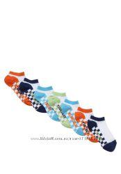 Носочки для мальчиков F&F Англия цвета, размеры от 19 до 40