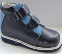 Ботинки ортопедические демисезонные Сурсил С-1 сине - голубые