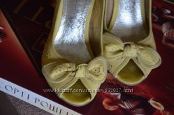 Туфли с открытым носком 23-23, 5 см