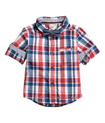 Рубашка с бабочкой H&M, 12-18 мес.