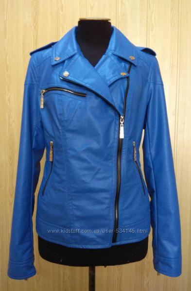Куртка косуха демисезонная экокожа 44-50