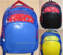 Рюкзаки-портфели с пикселями, создай сам рисунок, 385грн