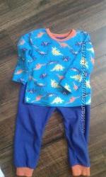 Яркая флисовая пижамка PRIMARK на 2-3 годика