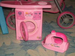 Детская стиральная машинкаутюжокгладилкасушилка