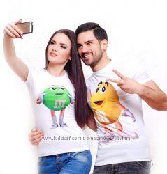 Яркая и Красочная печать на футболках.