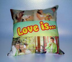 Подушка с фото. сувенир
