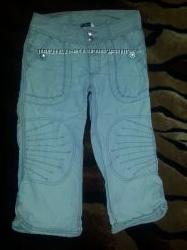 Фирменные бриджи-шорты H&M мальчику 8-9лет
