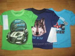 Новые футболочки Gloria Jeans 6-12 мес
