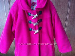 Флисовая куртка- пальто на синтепоне ТМ KIDS byOSTIN