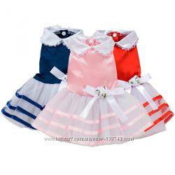Восхитительное пышное Платье для собак котов одежда