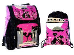Набор ранец школьный ортопедический и сумка для сменки Vombato