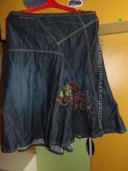 Юбка Junker S-M с вышивкой