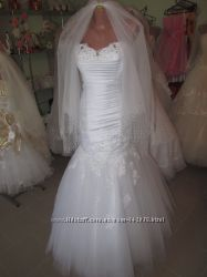 Свадебное платье русалка рыбка не дорого
