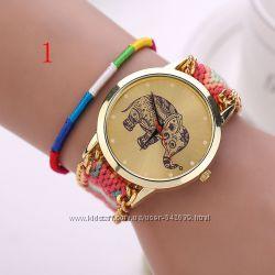 Часы со слоном - стильные и очень красивые