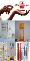Акция до 30. 12 Духи Fleur Parfum французская парфюмерия