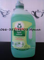 FROSCH  ФРОШ Средство для мытья посуды Зелёный лимон 5 л. и 1 л.