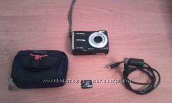 Фотоаппарат Olympus Fe-310. Флешка, Чехол, Кабель.