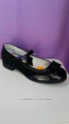 Туфли для девочек, кожаные, в школу