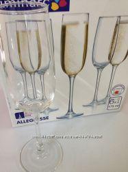 Набор фужеров для шампанского LUMINARC ALLEGRESSE 175 мл, 6 шт