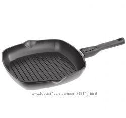 Сковорода-гриль с антипригарным покрытием и съемной ручкой Биол