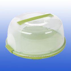 Тортовница пластиковая с крышкой sa-200