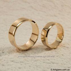 Классические обручальные кольца на заказ