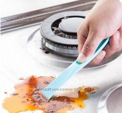 Кухонный скребок, шпатель, для удаления жира, грязи мое удивительное открыт