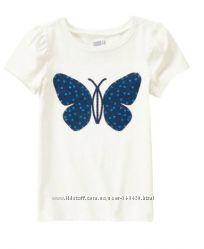 продам футболка  CRAZY8 бабочка с паетками ХL14