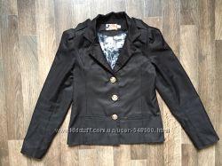 Черный школьный пиджак для девочек