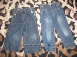 Джинсы, штаны вельвет на 12-18 и 18-24мес.