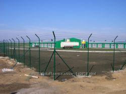 Системы ограждений  плетенные, сварные сетки, столбы, ворота, заборы, Киев