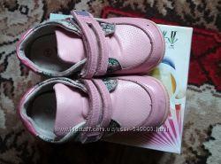 Демисезонные кожаные ботиночки Комфорт 24 размер