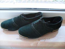 Замшевые туфли р 37 - 24, 5 см