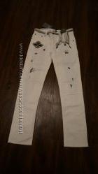 Модные джинсы PAESAGGino Италия, на 8, 10 и 14 лет