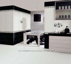 Плитка Ceramika COLOR Польша Коллекция NEO GEO черная