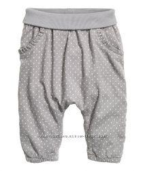 Детские брюки H&M для девочки