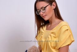 Женский нежный махровый халат-платье, Hlat