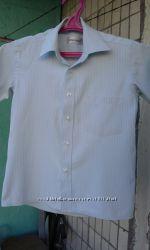 рубашки на мальчика с короткими рукавами