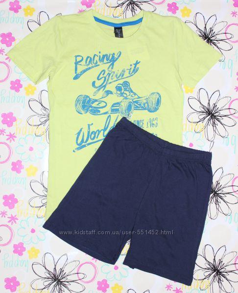 Комплект летний,  для дома, пижама C&A Here There, Palomino