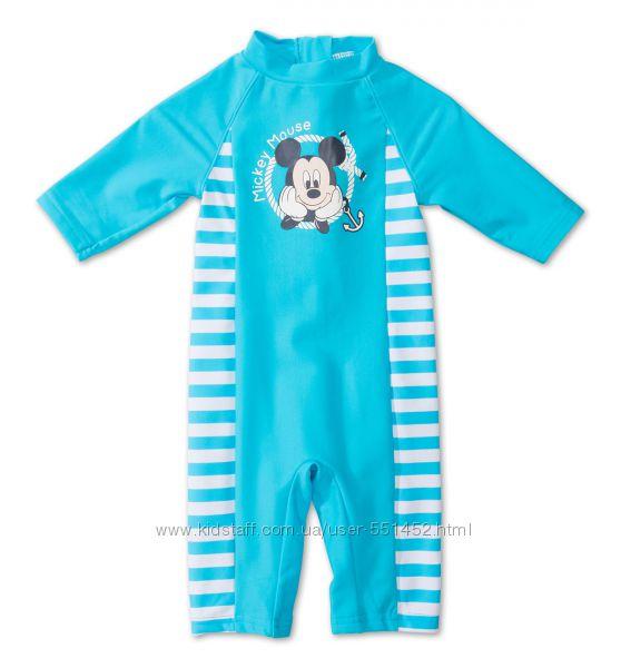 Купальный костюм C&A Disney 86р, УФ защита 40