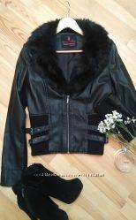 Модная куртка кожзам Tally Weijl