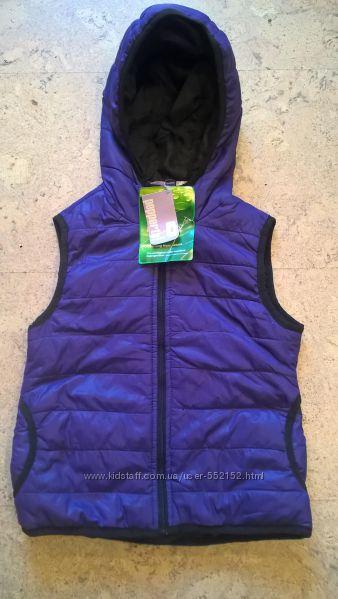 Новые жилетки с капюшоном для девочек Pepperts фиолетового цвета