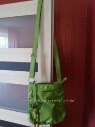 Кожаная сумка Next на длинном ремешке